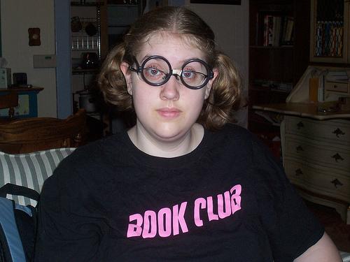 Book club nerd